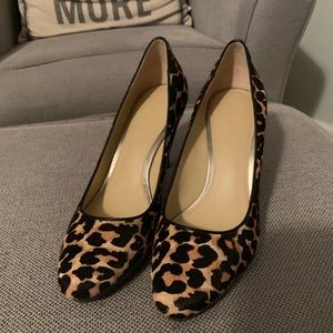 Coach Shoes - Coach Giovanna calf hair leopard print heel/pump